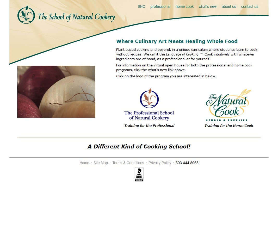 School of Natural Cookery